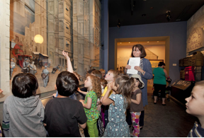 Pre-K learners explore the National Postal Museum