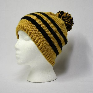 A knitted bobble hat, Wikimedia Commons