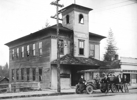 Granite Falls Historical Society_city hall mar 1940