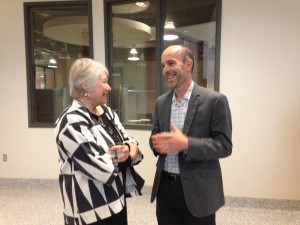 John Dichtl and Carol Kammen at MTSU