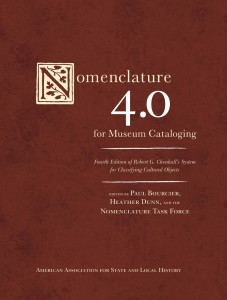 Order Nomenclature 4.0 for Museum Cataloging directly through Rowman & Littlefield