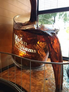 Evan Williams Bourbon Experience, entrance