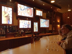 Evan Williams Bourbon Experience, tasting