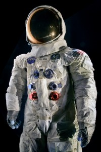 Neil Armstrong's Apollo 11 spacesuit worn during a 2 hour, 31 minute, and 40 second EVA (extra-vehicular activity) on the Moon in 1969. Photo: Eric Long | NASM2012-01664 (via nasm.si.edu)