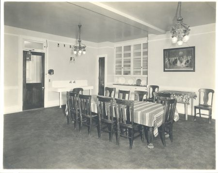 Servant's Dining Room at Nemours, undated. Nemours Estate Archive.