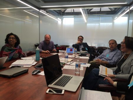The History Relevance Steering Committee meeting at the Smithsonian's National Air and Space Museum, February 2016.